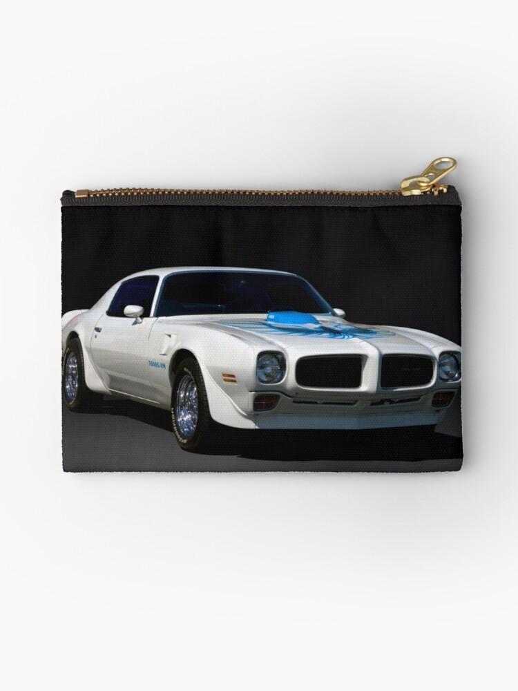 1973 Pontiac Firebird Trans Am Zipper Pouch
