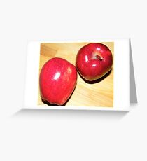 Red Apples Greeting Card