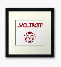 ... Voltron? Framed Print