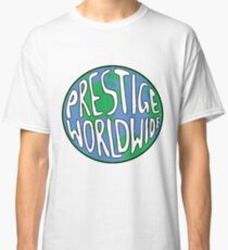 Prestige Worldwide logo - Step Brothers Movie Classic T-Shirt