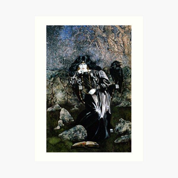The Morrigan Art Print