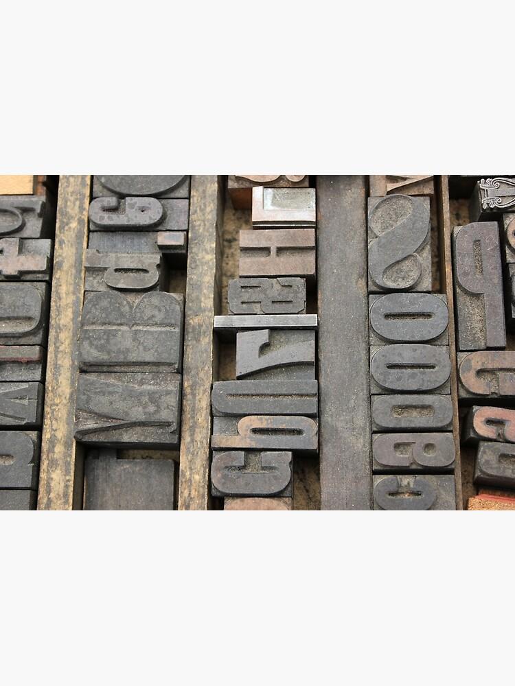 Letterpress, Brooklyn Flea Market by shehasnostrings