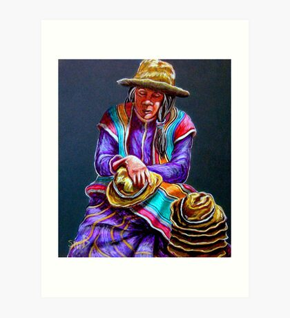 """Hats For Sale"" Art Print"