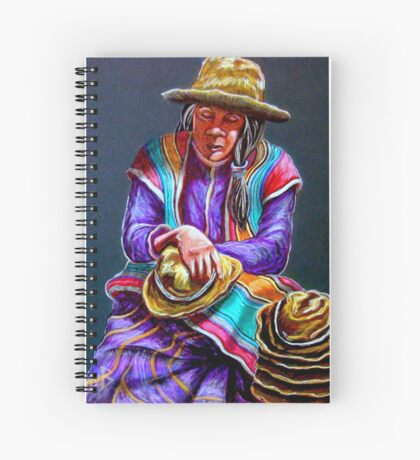"""Hats For Sale"" Spiral Notebook"