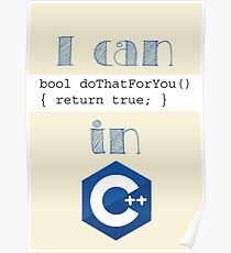 Do It in C++ Poster