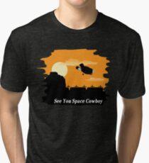 Firefly Serenity X Cowboy Bebop Tri-blend T-Shirt