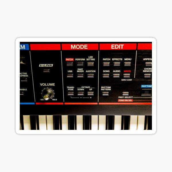 Roland Keyboard Sticker