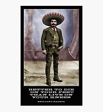 Zapata Photographic Print