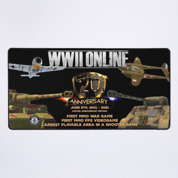 WWII Online 20th Anniversary Game Mat Desk Mat