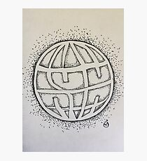 State Champs Ink Drawing Photographic Print