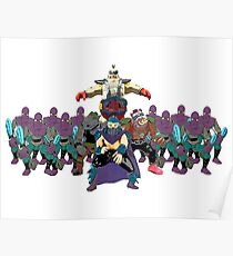 Shredder, Krang, Rocksteady, Bebop, Foot Clan, OH MY!  Poster