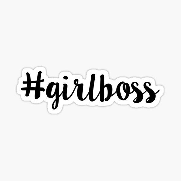 #girlboss Sticker