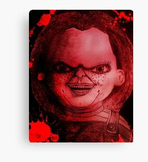 Scary Slasher  Doll Canvas Print