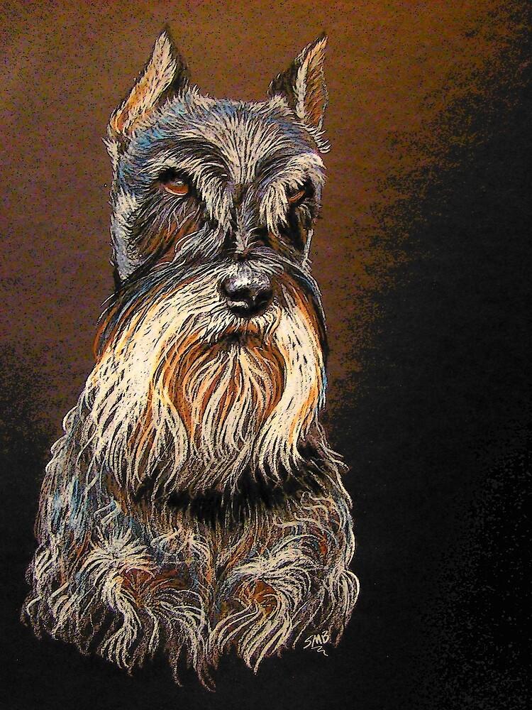 """Sir Schnauzer"" by Susan McKenzie Bergstrom"