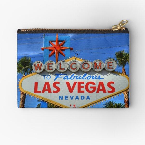 Welcome to Fabulous Las Vegas Zipper Pouch