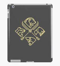 minimal Hogwarts iPad Case/Skin