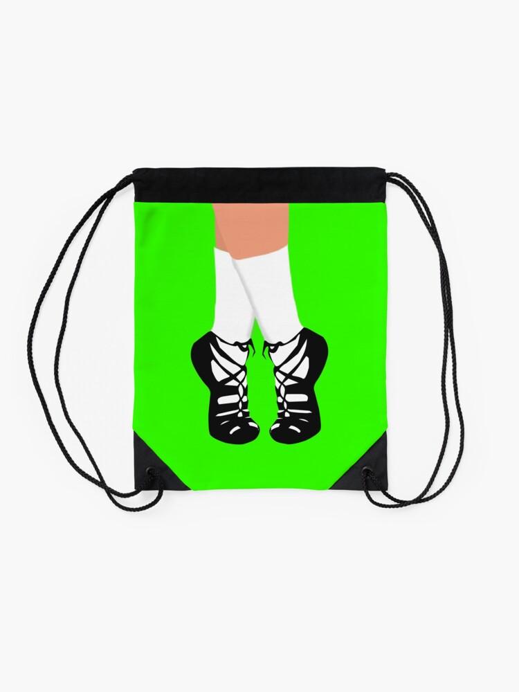 Alternate view of IRISH DANCE Drawstring Bag