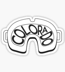 SKI SKIING COLORADO GOGGLES SNOWBOARD BRECKENRIDGE ASPEN Sticker
