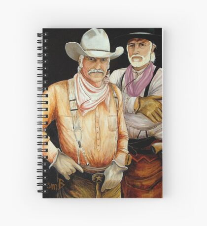 """""""Gus And Woodrow"""" Spiral Notebook"""