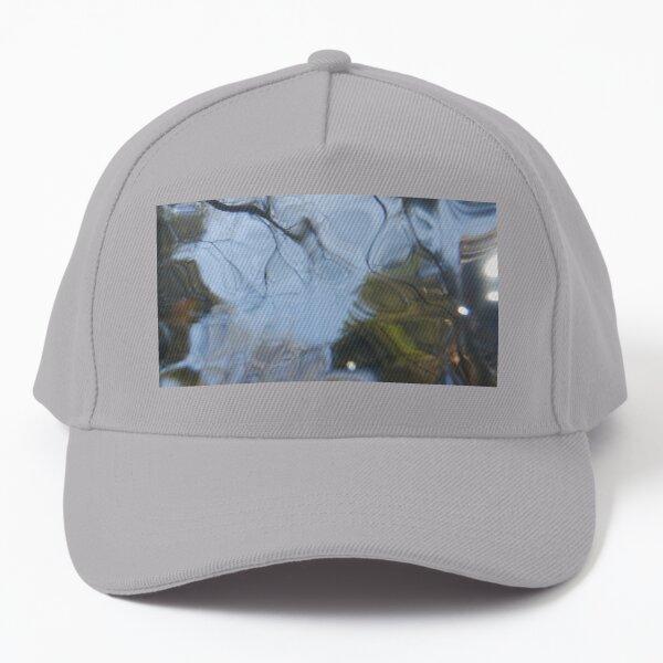 rippling forest reflection Baseball Cap