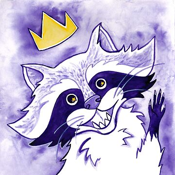 King Raccoon by Rootedbeauty