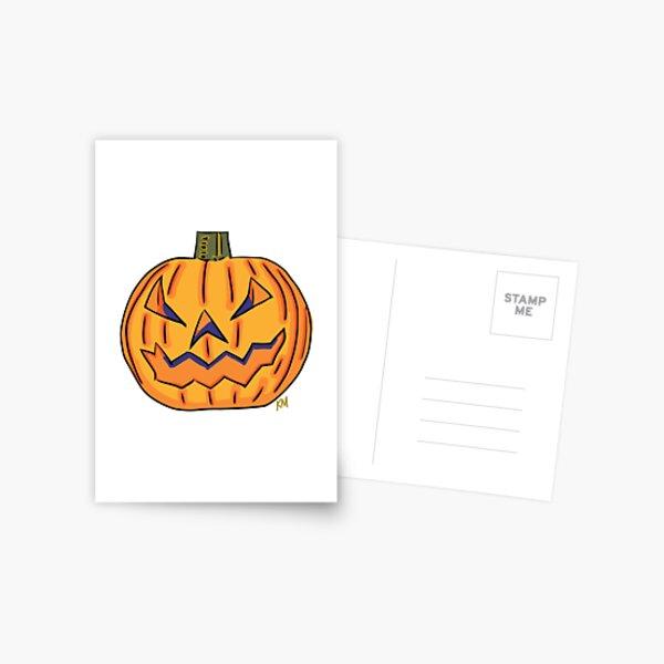 Jack o Lantern  Postcard