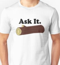 Twin Peaks Ask It Log T-Shirt