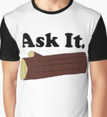 Twin Peaks Ask It Log Graphic T-Shirt