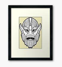 Beastman Framed Print