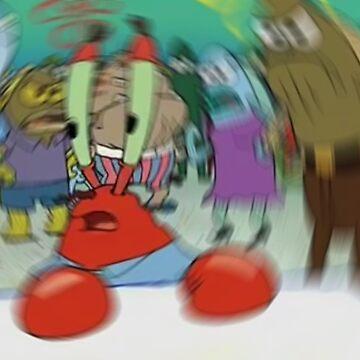 Blurry Mr Krabs Meme Sticker by andizzle1