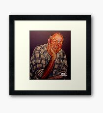 """Chris"" Framed Print"