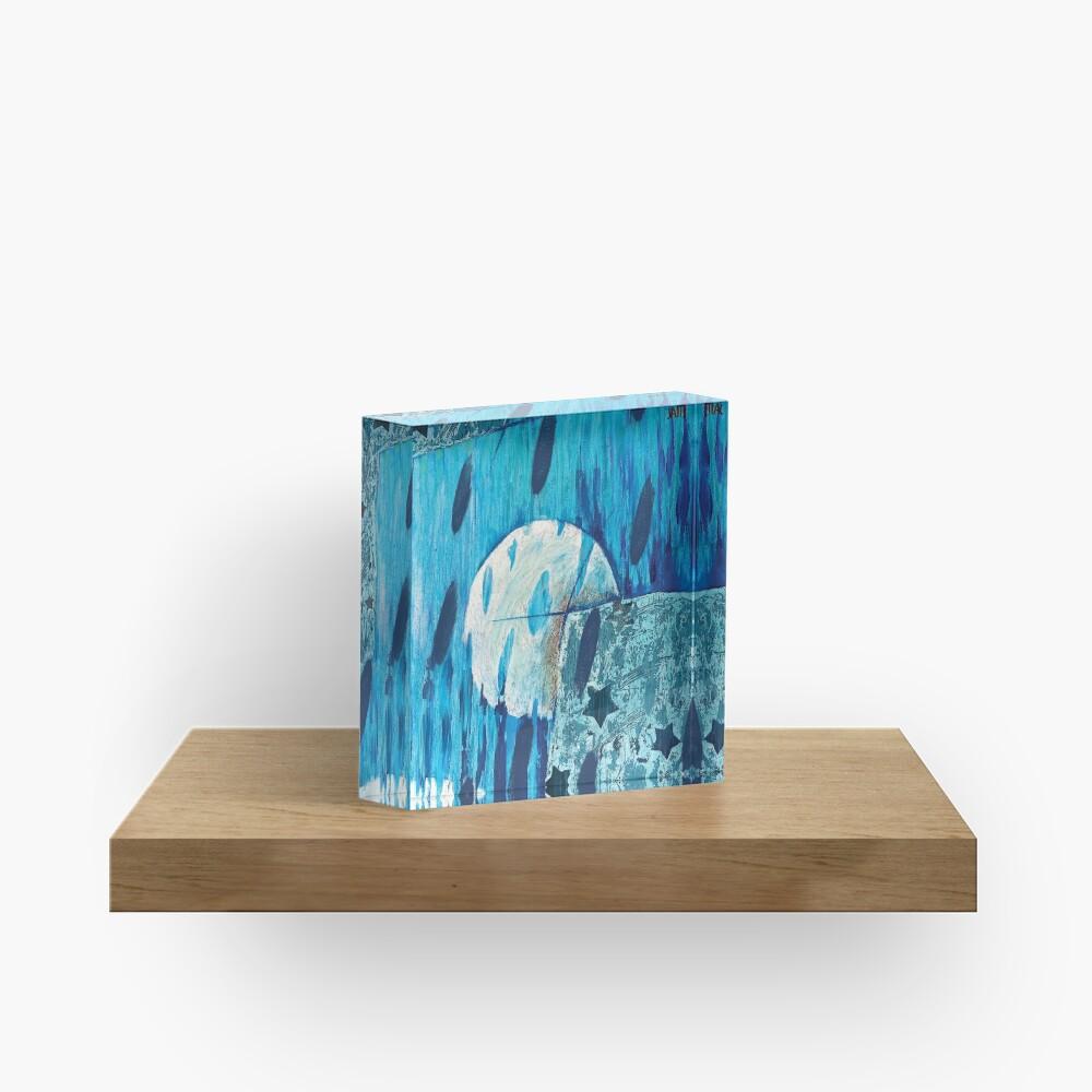 3 Moons Dream Panorama Acrylic Block