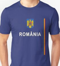 Romanian Sports Jersey Design - Romania National Style Unisex T-Shirt