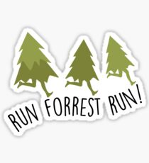 Run Forrest Run - Forrest Gump Sticker