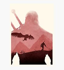 The Witcher (No Text) Photographic Print