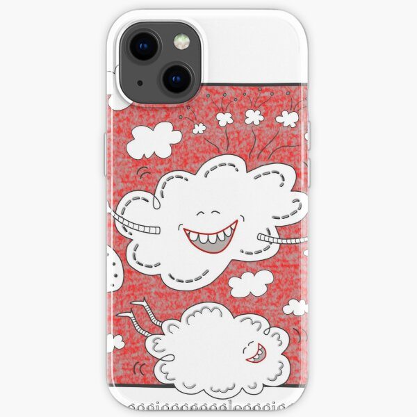 Gigglefit Red iPhone Soft Case