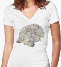 Ursa Major & Minor Women's Fitted V-Neck T-Shirt