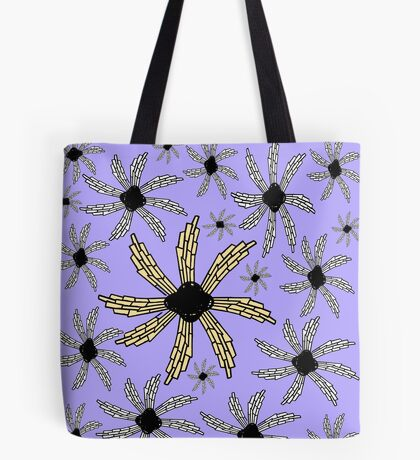 Orchid, lavender,purple spiral wind catcher pattern Tote Bag
