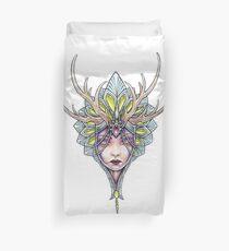 Crowned girl Duvet Cover