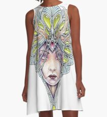 Crowned girl A-Line Dress