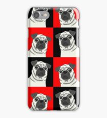 Profound Hounds -- A Pack of Pugs by IdeaJones iPhone Case/Skin