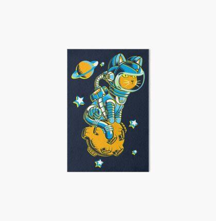 Space Cat Art Board