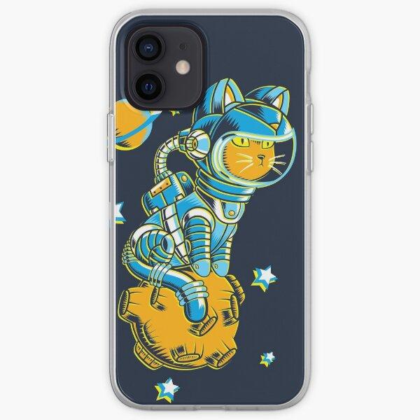 Space Cat iPhone Soft Case