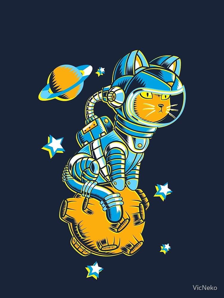 Space Cat by VicNeko