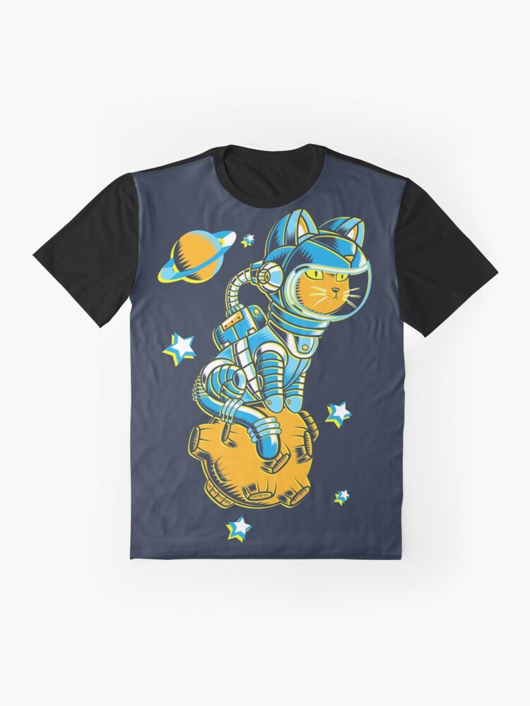 Alternate view of Space Cat Graphic T-Shirt