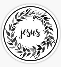 Jesus Sticker