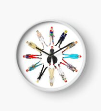 Outfits of Bowie Fashion Clock