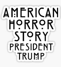 Real Life Horror Story Sticker