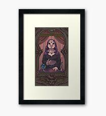 Owl-Woman Oracle Framed Print