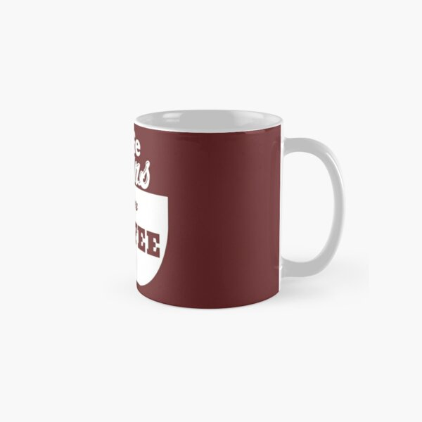 Life begin after coffee perfect design for how love coffee  Classic Mug
